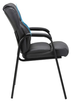 Clatina Leather Guest Chair