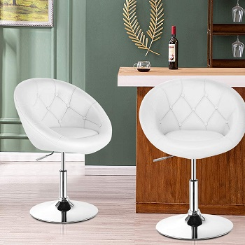 Costway 52961WH Lounge Chair