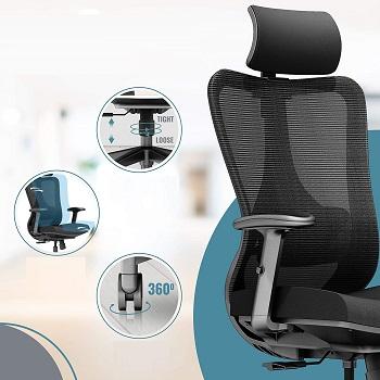 Defy Desk Mesh Home Chair