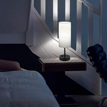 Dott USB Bedside Table Lamp