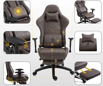 Dowinx Retro Gaming Chair