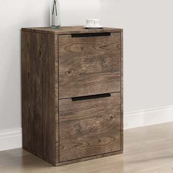 GREATMEET Wood File Cabinet with