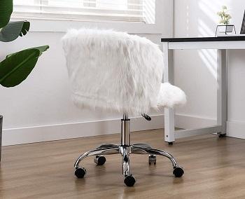 Guyou Modern Armless Chair