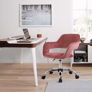 Homefun Pink Task Chair