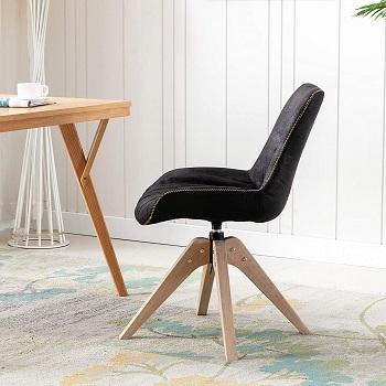 Kinwell Modern Suede Chair