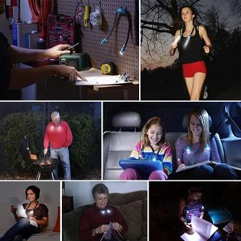 LEDGLE Rechargeable LED Book Light