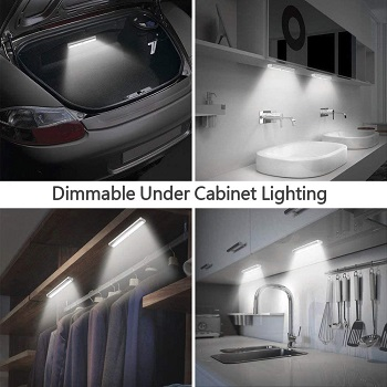 LULUAN Dimmable Under Cabinet Lighting