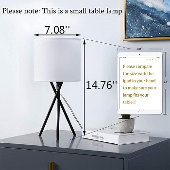 Modern Small Bedside Table Lamp - benery