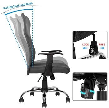 Morcoe High-Back Chair