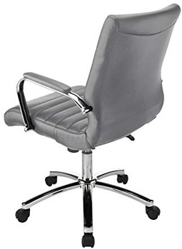 Realspace Winsley Leather Chair
