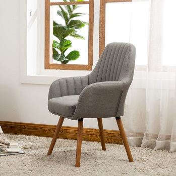 Roundhill AC151GY Fabric Chair
