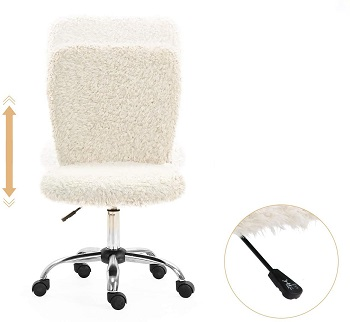 Seatzone Fur Desk Chair2