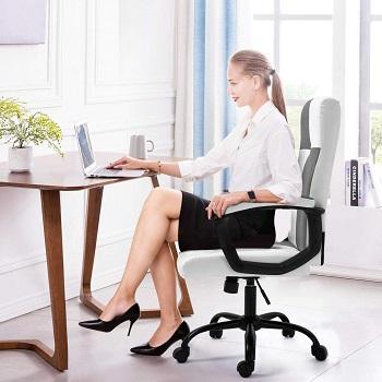 Seatzone Leather Ergonomic Chair