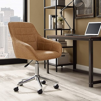 Volans Mid-Back Leather Chair