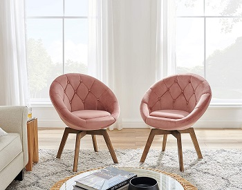 Volans Tufted Swivel Chair