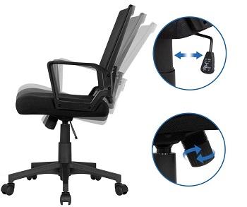 Yaheetech Computer Ergonomic Chair