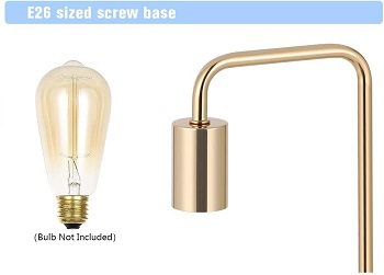 nova juns Edison Table Lamp, Industrial