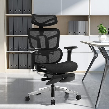 BEST ADJUSTABLE TALL CHAIR WITH ARMS
