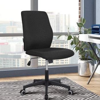 BEST ARMLESS ERGONOMIC OFFICE CHAIR FOR TALL PERSON