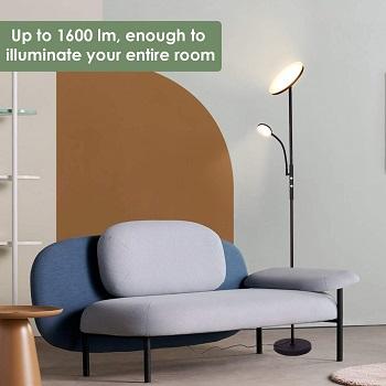 BEST BEDROOM FLOOR LAMP FOR READING CHAIR