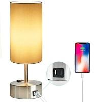 BEST BEDSIDE DESK LAMP WITH OUTLET picks