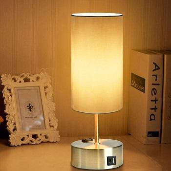 BEST BEDSIDE DESK LAMP WITH OUTLET