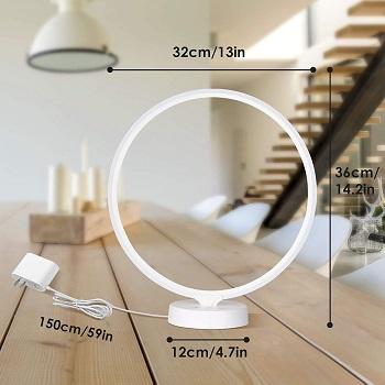 BEST BEDSIDE MODERN WHITE DESK LAMP