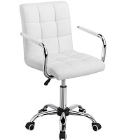BEST CHEAP WHITE LEATHER ERGONOMIC OFFICE CHAIR Summary