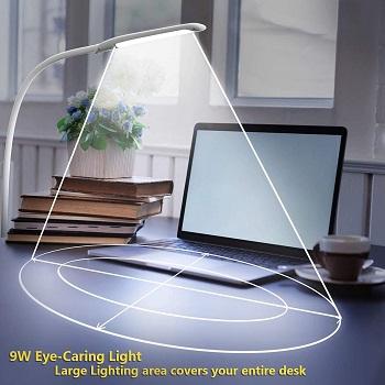 BEST CLAMP WHITE TASK LAMP