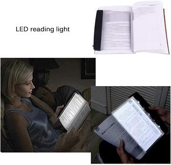 BEST CLIP ON FLAT BOOK LIGHT