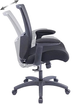 BEST FLIP-UP TALL CHAIR WITH ARMS