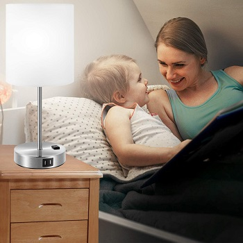 BEST FOR READING NIGHT STAND LIGHT WITH USB