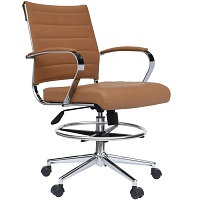 BEST FOR STUDY MID-CENTURY DRAFTING CHAIR Summary