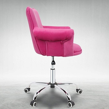 BEST FOR STUDY PINK ERGONOMIC CHAIR
