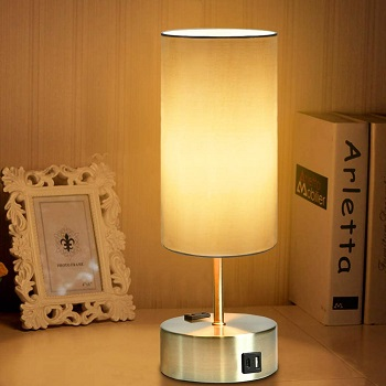 BEST HOME DESK LAMP WITH USB PORT AND OUTLET
