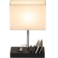 BEST LED BEDSIDE LAMP WITH CHARGING STATION picks