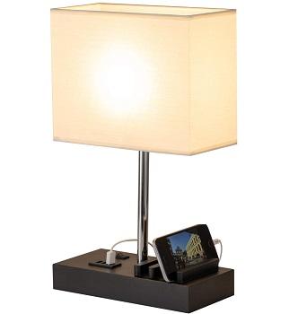 BEST LED BEDSIDE LAMP WITH CHARGING STATION