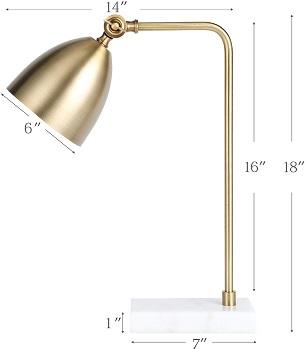 BEST LED BRASS READING LAMP
