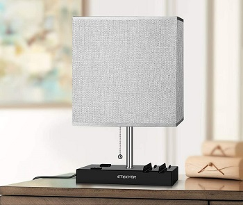 BEST LED DESK LAMP WITH USB AND OUTLET
