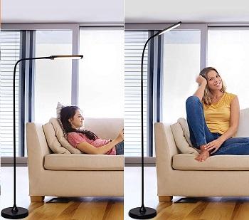 BEST LED FLOOR LAMP FOR READING CHAIR