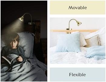 BEST LED OVER THE HEADBOARD LAMP
