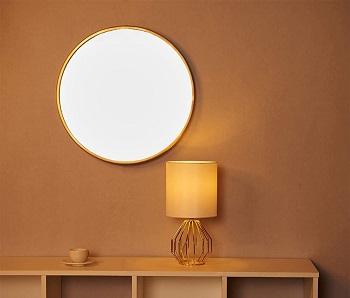 BEST LED WHITE AND GOLD DESK LAMP