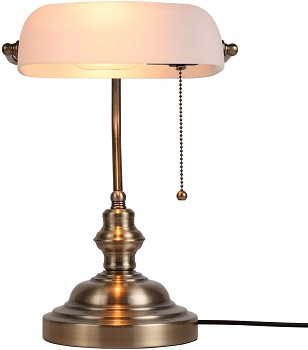 BEST LED WHITE BANKERS LAMP