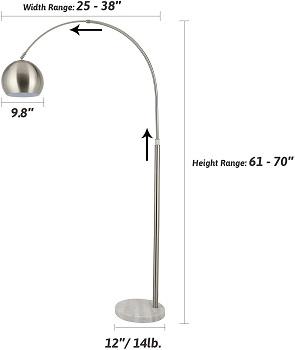 BEST MODERN FLOOR LAMP FOR READING CHAIR