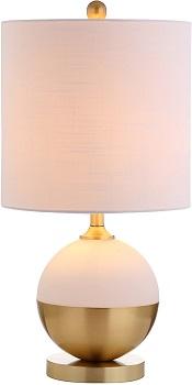 BEST MODERN WHITE AND GOLD DESK LAMP
