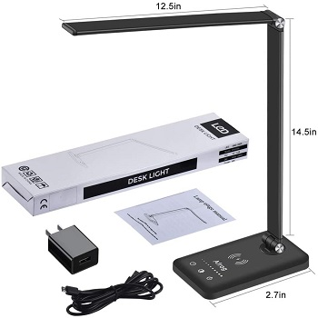 BEST OF BEST DESK LAMP WITH PHONE CHARGER
