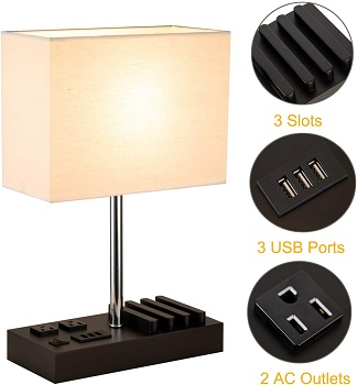 BEST OF BEST NIGHT STAND LAMP WITH USB