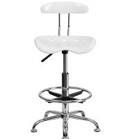 BEST OF BEST WHITE DRAFTING CHAIR Summary