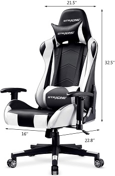 BEST OF BEST WHITE LEATHER ERGONOMIC OFFICE CHAIR