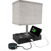 BEST READING BEDSIDE LAMP WITH CHARGING STATION PICKS